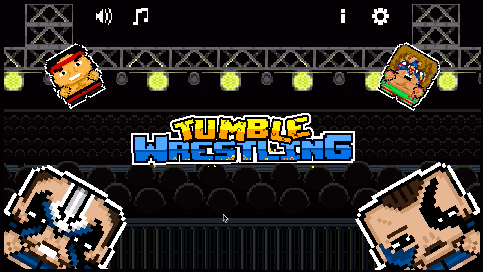 Tumble Wrestling Screenshot